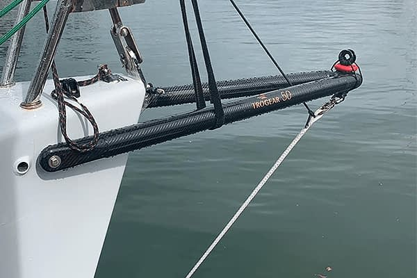 Trogear Adjustable Bowsprit - How to rig the bobstay