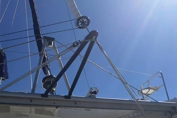 Trogear Adjustable Bowsprit Mounting Accessories - Catamaran Brackets