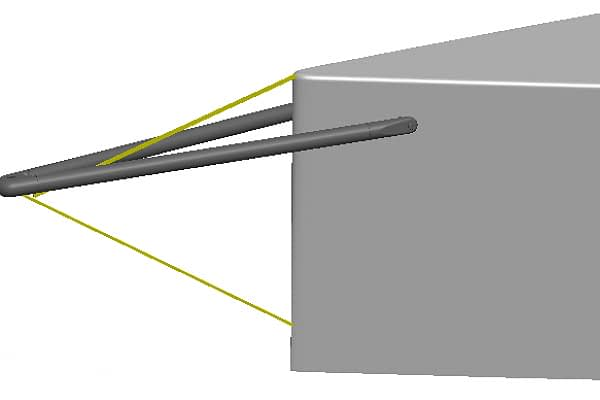 Trogear Adjustable Bowsprit - Preventer
